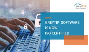 Greytip Software is now ISO Certified!