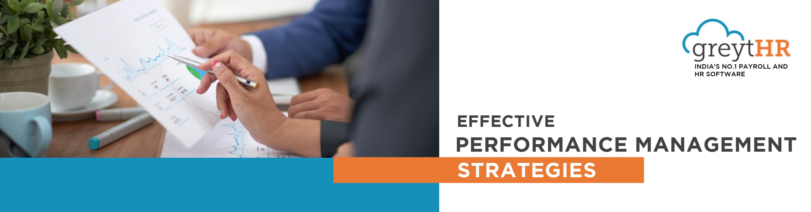 Effective Performance Management Strategies