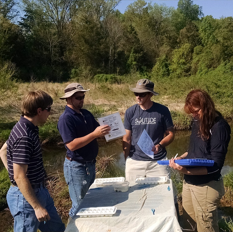 John Marshall Soil Water Conservation District Stream Monitoring_TheSOLution