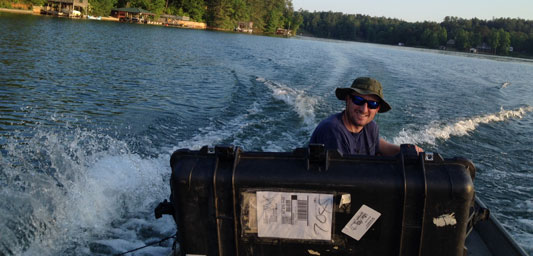 Lake Mapping To Determind Water Depth