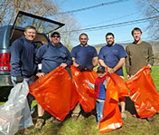 Team Getting Ready to Cleanup the Musconetcong River