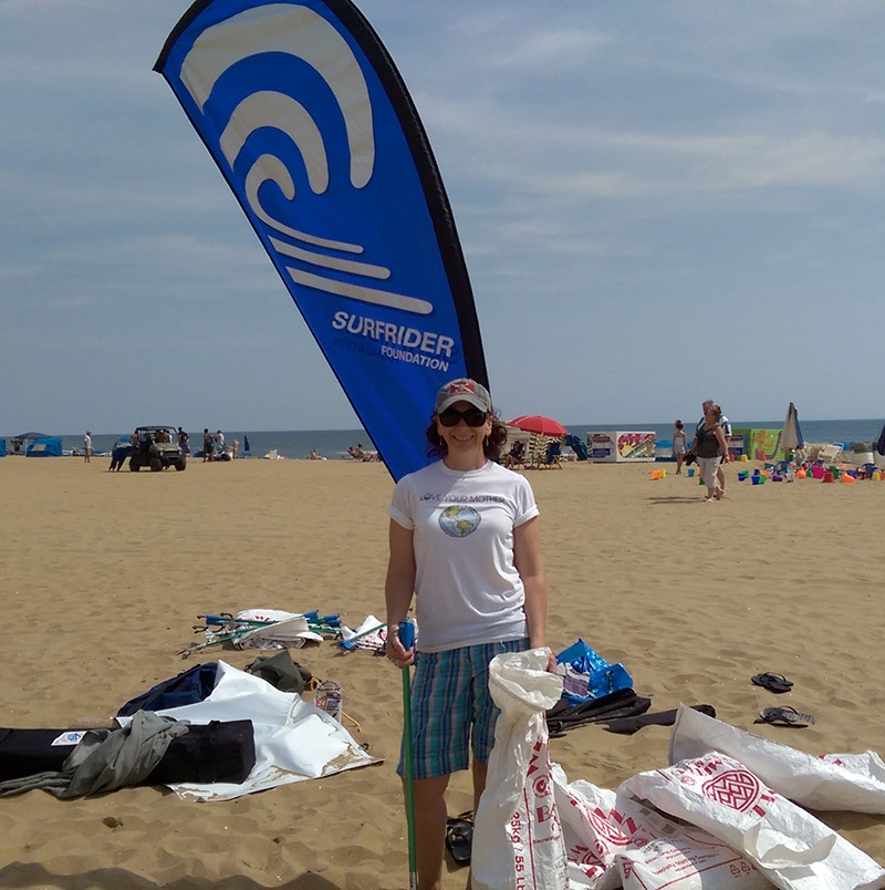 Surfrider Foundation Clean Up_Virginia Beach_TheSOLution
