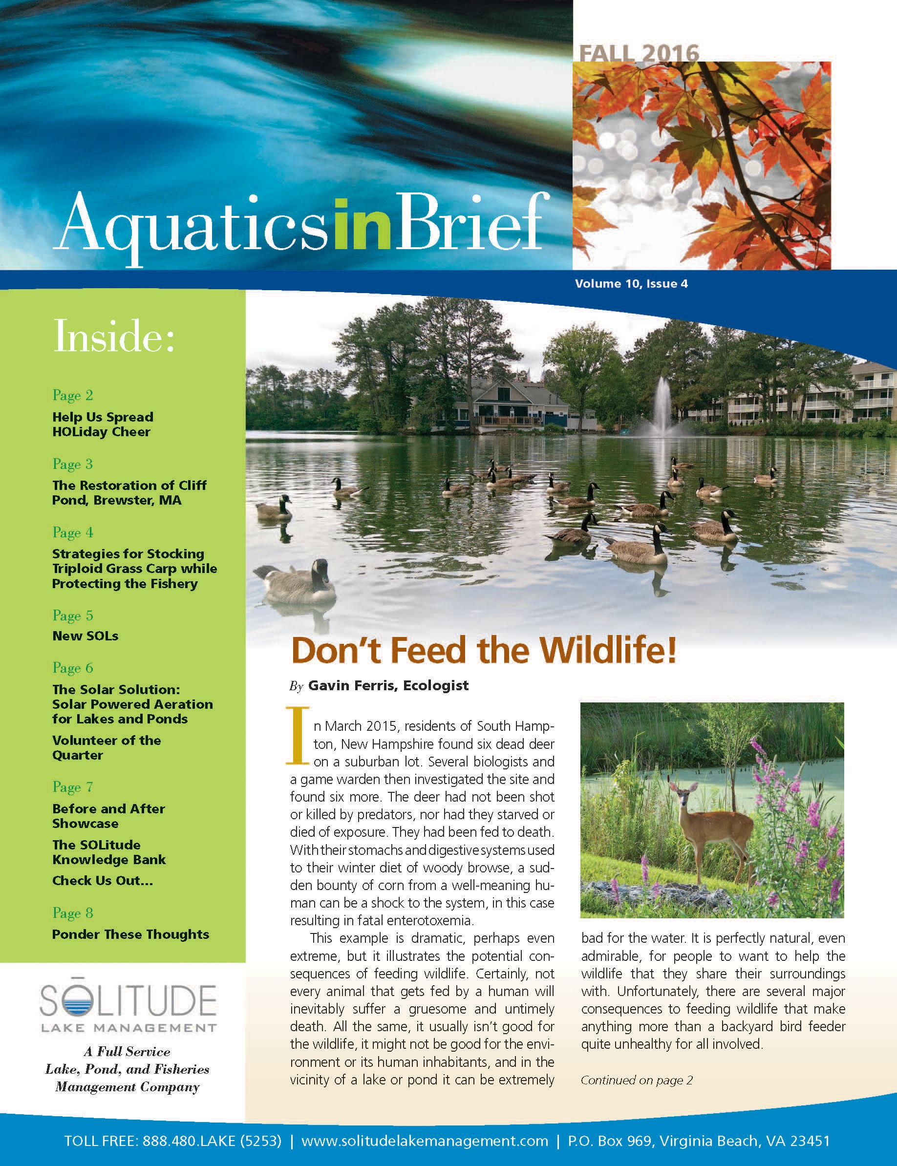 AquaticsInBrief_newsletter_10.2016_fall_cover