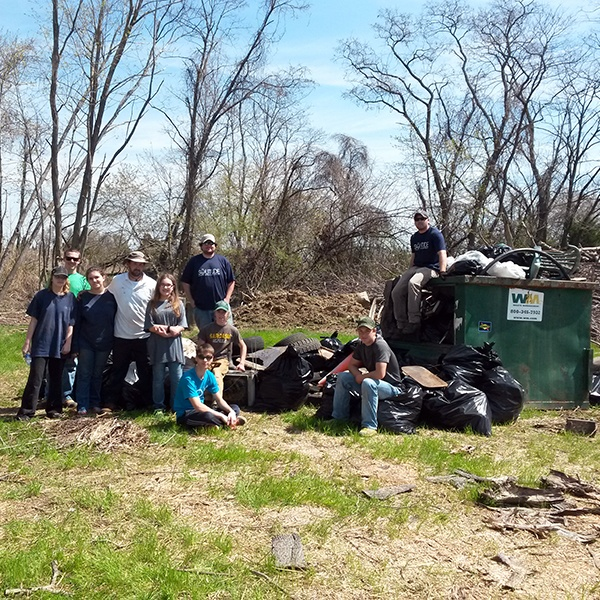 Augustine Creek Wildlife Area Clean Up_Delaware_TheSOLution