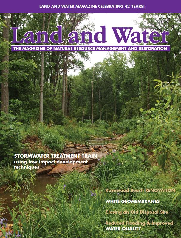 Land and Water Magazine - 40th Anniversary Photo Contest Cover