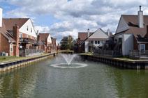 Beautiful Community Fountain