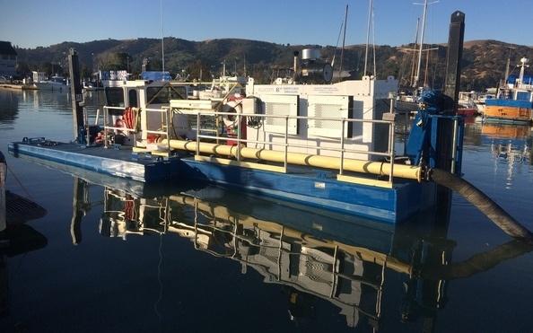 Hydraulic Dredge, SOLitude Lake Management