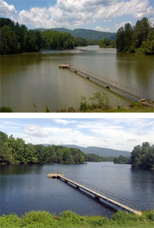 Reservoir Before and After