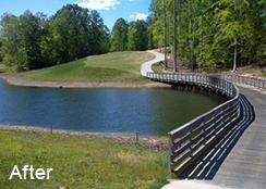 Golf_course_Irrigation_Pond_New_Kent_VA_6.50_acres_AFTER_Filamentous_algae_treatments