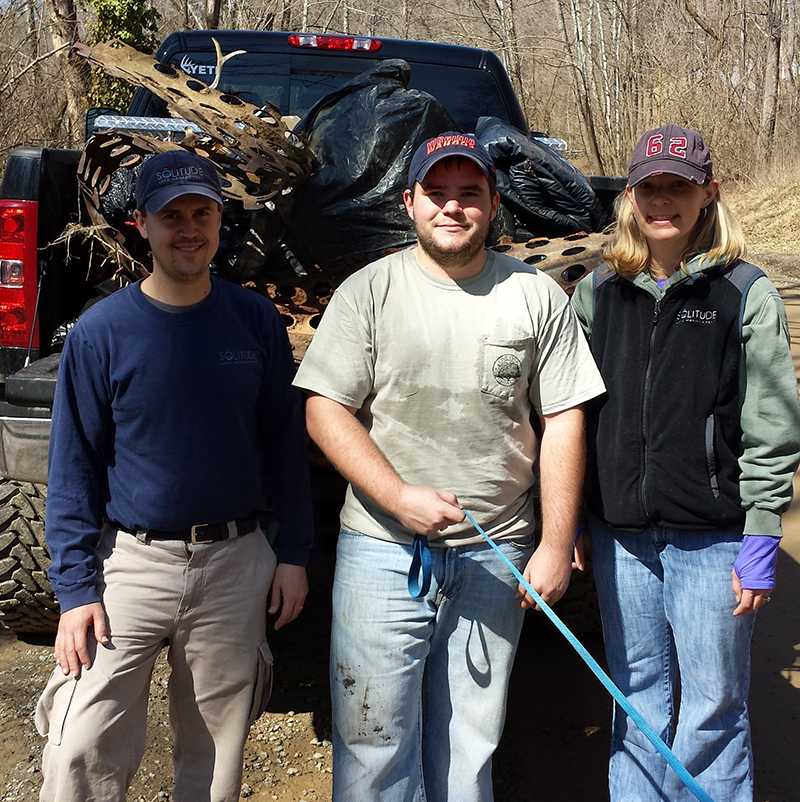 Rivanna River clean Up Charlottesville