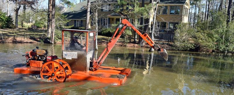 Hydro-raking