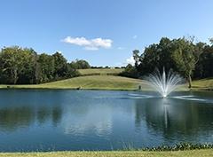 Private Pond in North Carolina