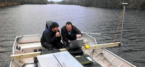 Lake Mapping Equipment