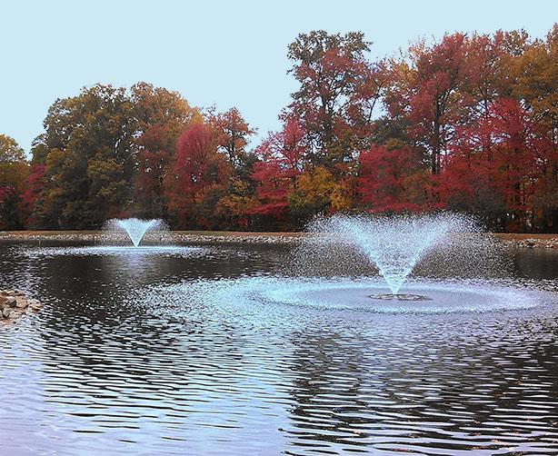 fall fountains