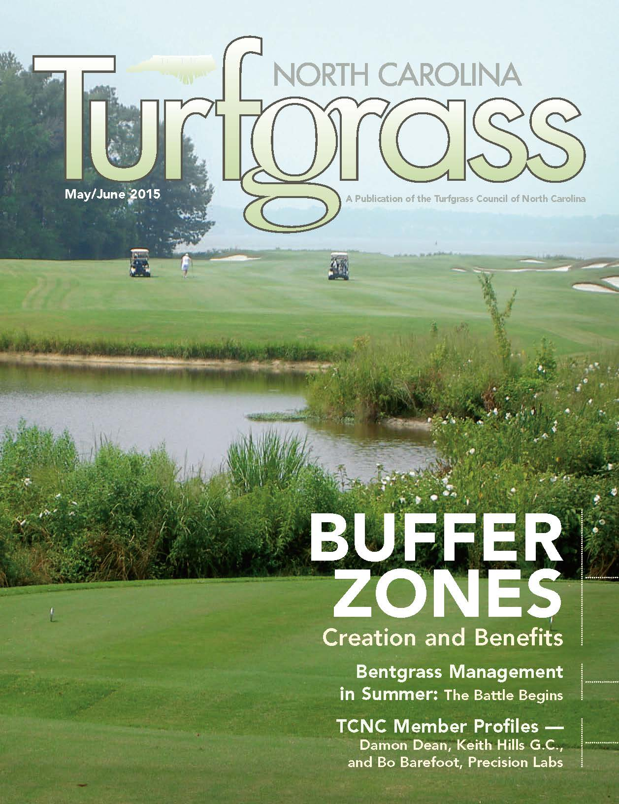 Pond Buffer Zones: Creation and Benefits_North Carolina Turfgrass Magazine
