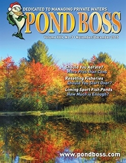 Pond Boss Magazine Cover Resetting Fisheries