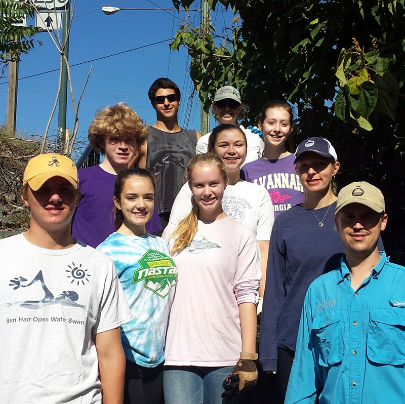 Rivanna Conservation Society_Keys Club_Clean Up_The SOLution