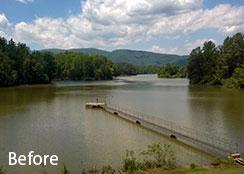 Toxic Algae Bloom In Local Reservoir