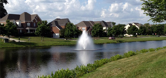 Residential Development Lake and Pond Management