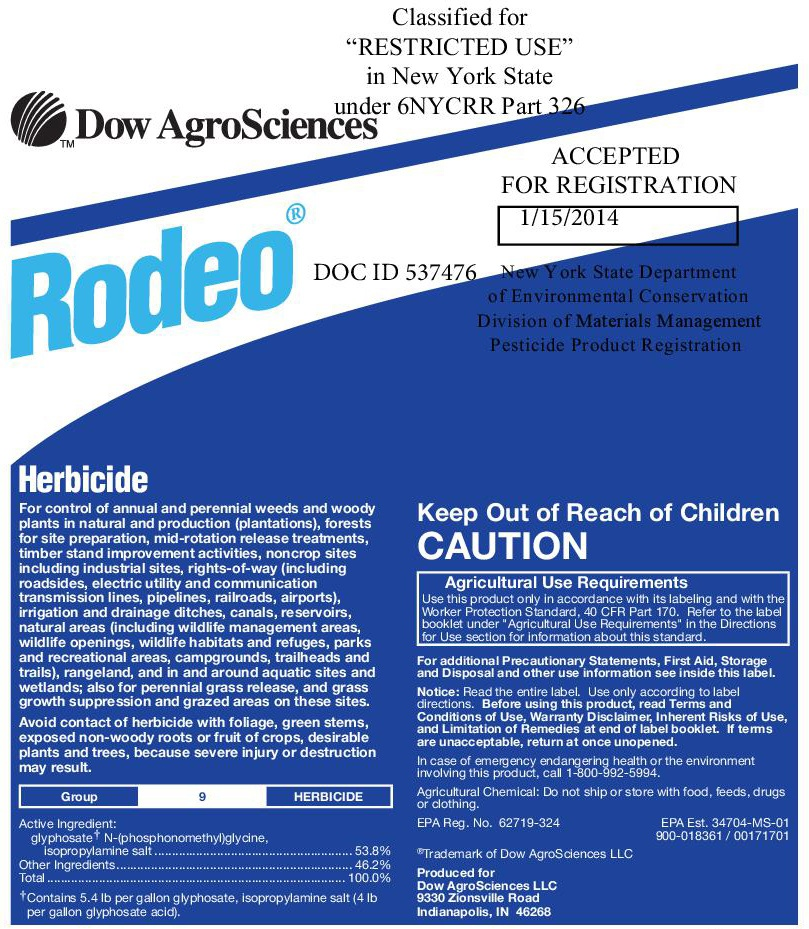 Rodeo herbicide / shore-klear | emergent weed control | midwest.