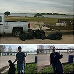 TX & MO Trash cleanups-d