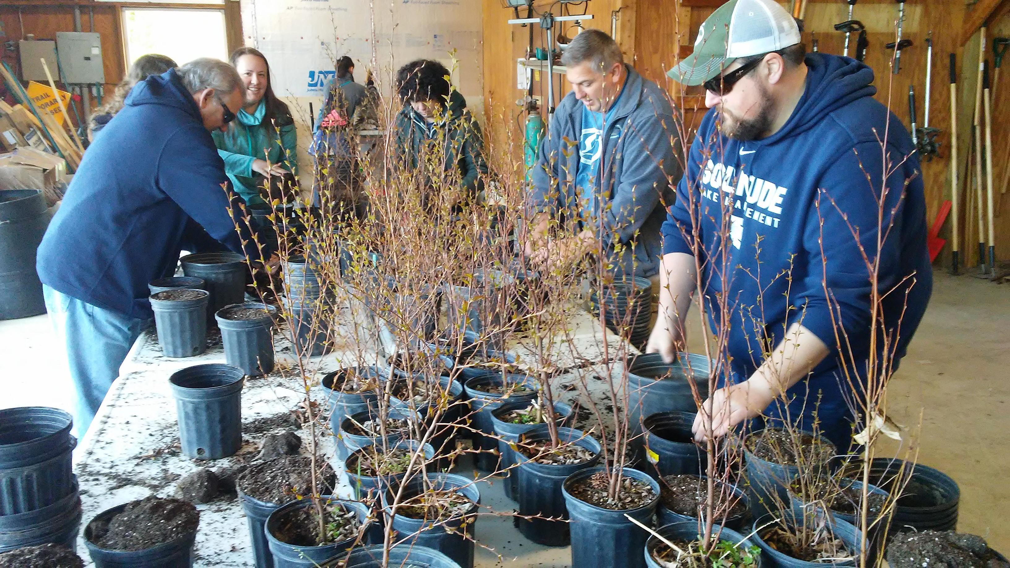 Tree Planting Events - SOLitude Lake Management
