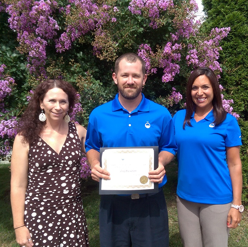 Greg Blackham_Volunteer of the Quarter_TheSOLution