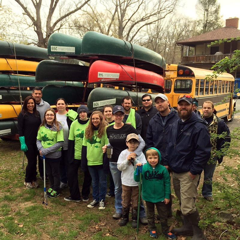 Brandywine River Clean-Up_Downingtown PA_TheSOLution