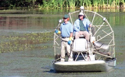 Managing via Airboat