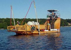 Alum Barge with Custom Spray System