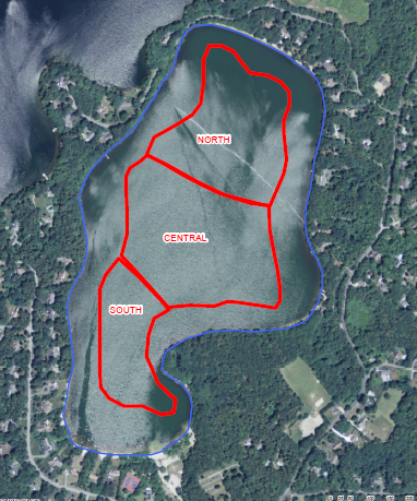 Alum Treatment Site Map