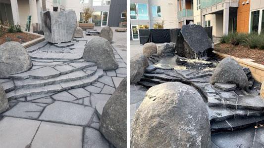 Granite Water Feature