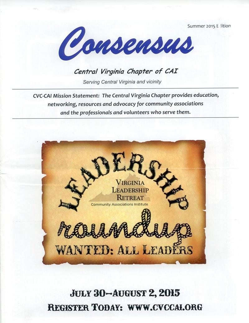 VA Leadership Retreat - Consensus, Central Virginia Chapter, Community Associations Institute