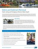 debris and sediment removal