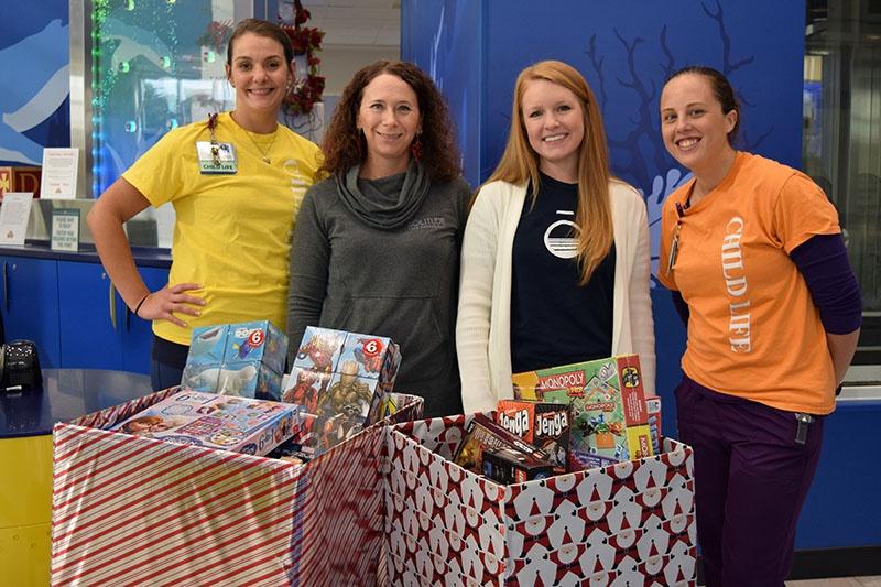 holiday cheer chkyd hospital donation