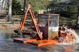 hydro-rake