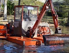 Hydro Raking and Mechanical Harvesting SOLitude