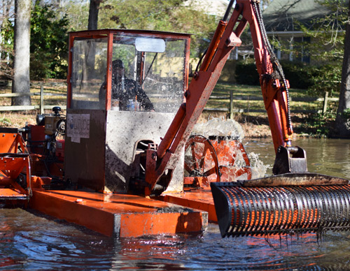 Hydro Raking Services