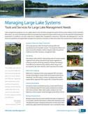 large lake management