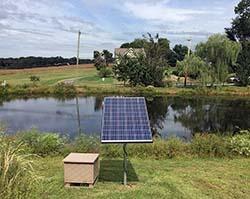 Solar Lake and Pond Aeration