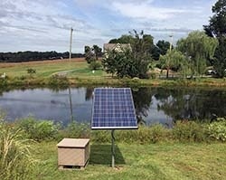 Solar Lake and Pond Aeration