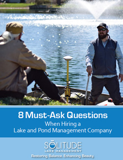 8 Must Ask Questions When Hiring a Lake and Pond Management Company