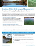 drinking water and reservoir management