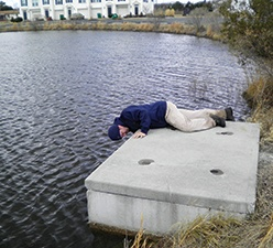 Stormwater Pond Inspection