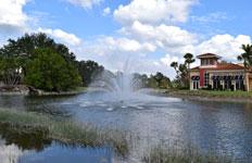 Beautiful Fountain in Florida
