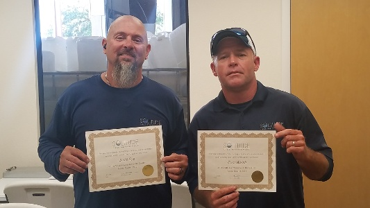 volunteer of the quarter- VOQ - Scott Dye - Errol Walsh-1