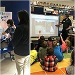 water science fair & elem school presentation collage-d