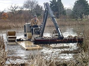 Winter Hydro-raking