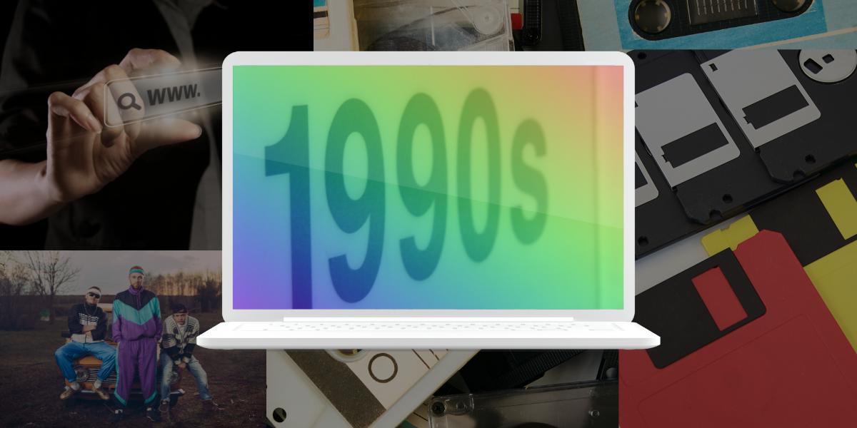 1990s computer monitor