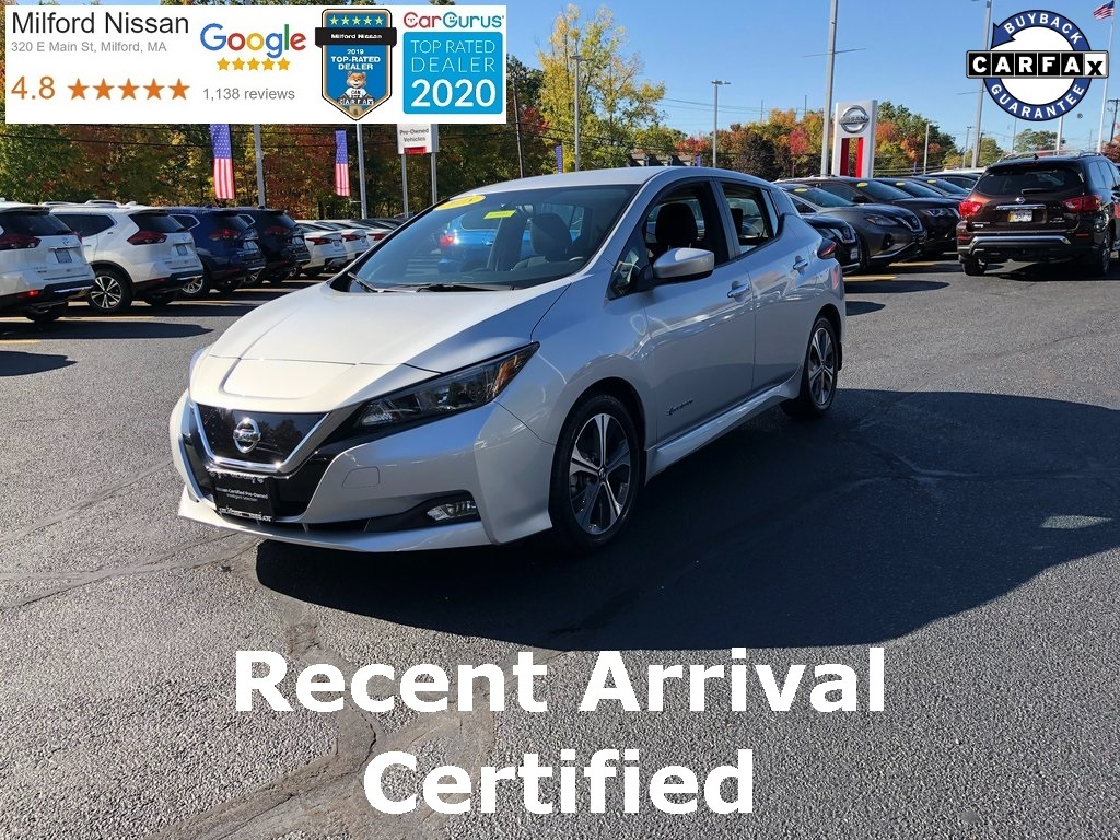 Used Nissan LEAF SL, 2018